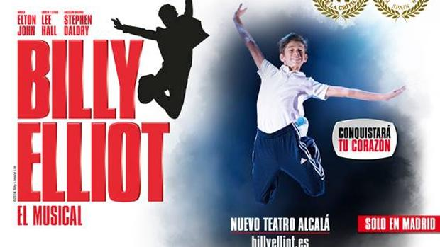 Cartel del musical Billy Elliot en Madrid