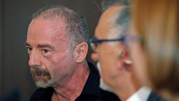 Timothy Brown, en la inauguración del congreso sobre SIDA en Alicante, este miércoles