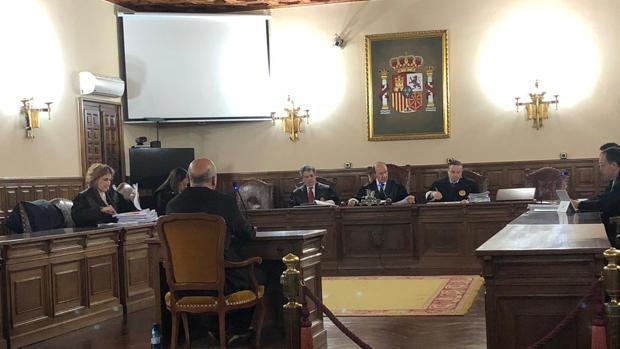 Imagen del jucio que ha arrancado este miércoles en la Audiencia Provincial de Cuenca