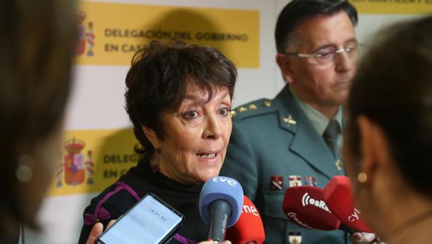 La delegada del Gobierno Mercedes Martín ofrece datos del voto por correo