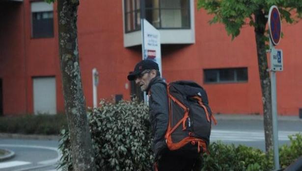 Imagen actual de Josu Tenera, detenido hoy