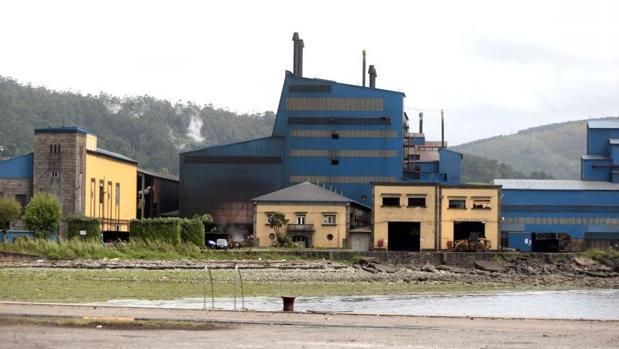 Factoría de Ferroatlántica en Cee