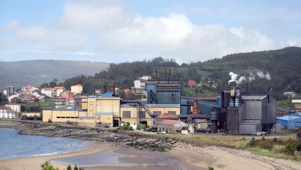 Factoría de Ferroatlántica en la localidad coruñesa de Cee