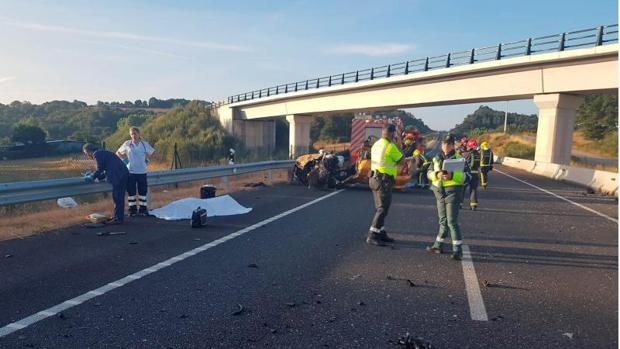 Accidente en la CG-2.2