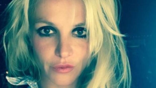 Spears en una imagen en sus redes sociales