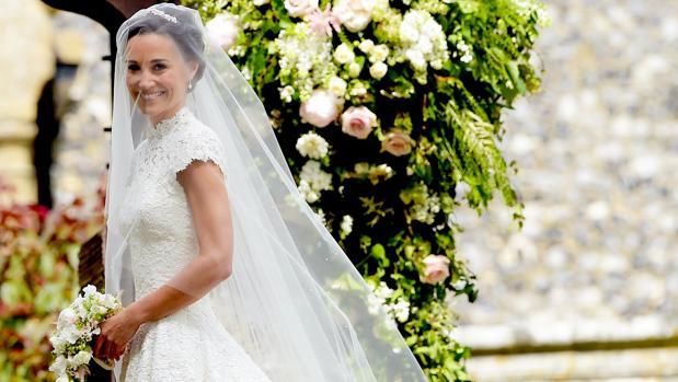 Pippa Middleton el día de su boda