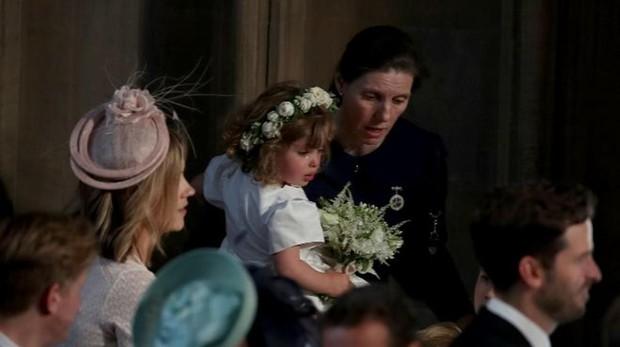 María Teresa Turrión, en la boda de Meghan Markle y el príncipe Enrique