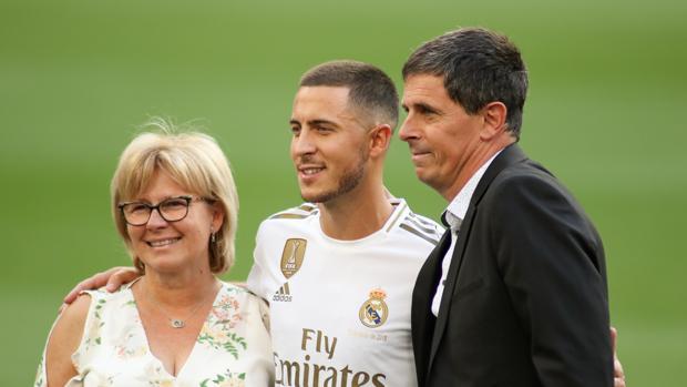 Carine y Thierry, los padres de Eden Hazard, fueron futbolistas.