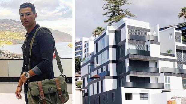 Cristiano Ronaldo y su nuevo edificio de siete plantas en Fuinchal