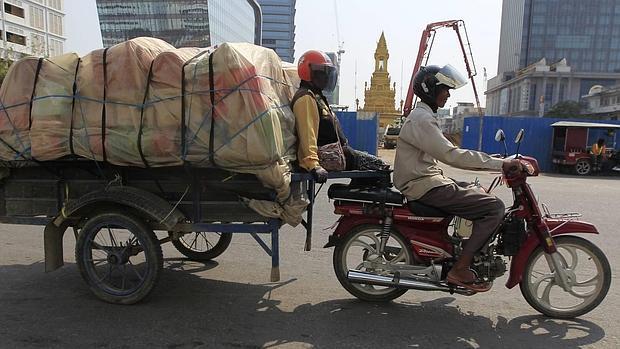 La capital de Camboya, Phnom Penh