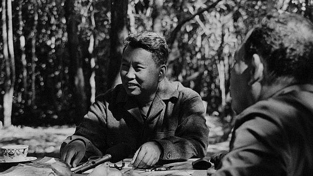 Pol Pot, líder de los Jemeres Rojos