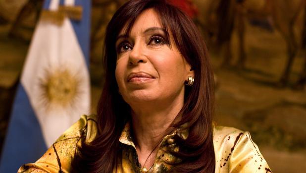 Cristina Fernández de Kirchner, en una entrevista con ABC en 2009