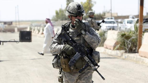 Un soldado estadounidense, en una imagen de archivo