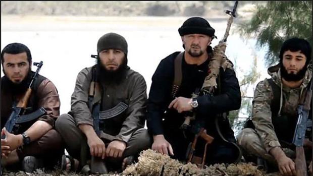 Miembros del grupo yihadista Daesh