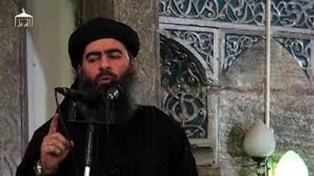 Abu Bakr al Baghdadi, en una de las pocas imágenes que existen de él
