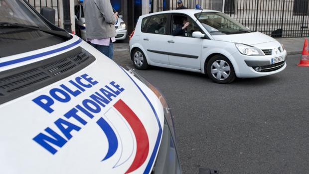 Vehículos de la Policía Nacional francesa, en una imagen de archivo