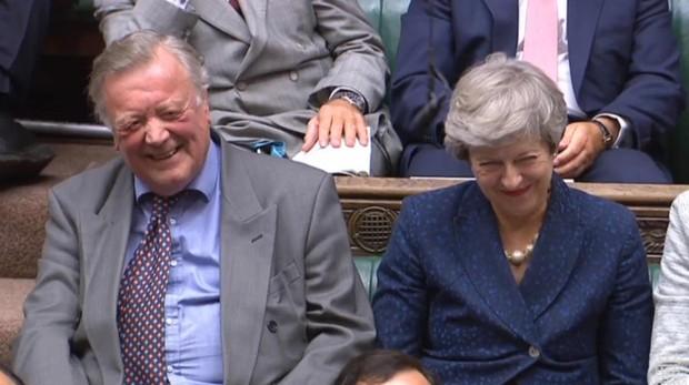 La exprimera misnitra británica en la Cámara de los Lores