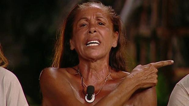 Isabel Pantoja, en 'Supervivientes'.