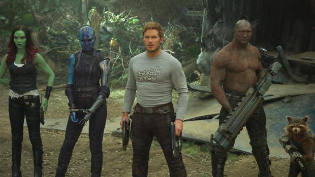 Los «Guardianes de la Galaxia» se manifiestan a favor de James Gunn