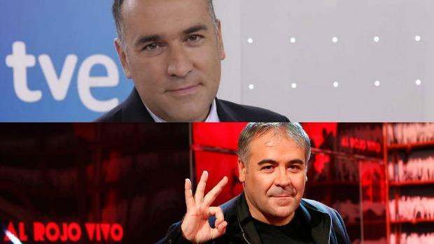 Xabier Fortes (arriba) y Antonio García Ferreras (abajo)