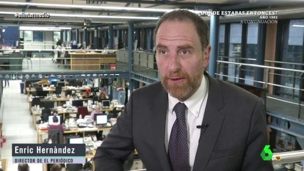 Enric Hernández, director de El Periódico