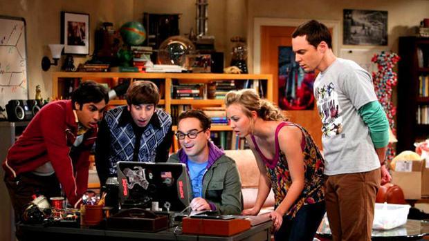 Los protagonistas de «The Big Bang Thoery», en una imagen de archivo