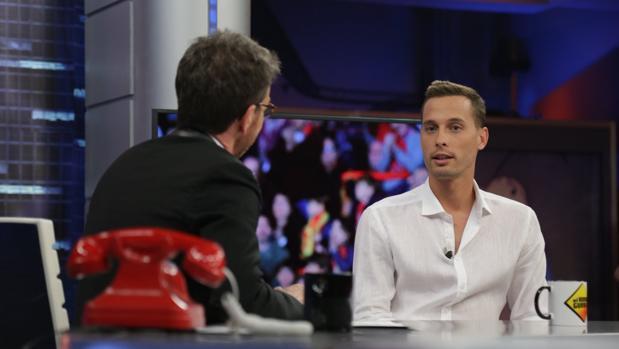 Sergio Canales y Pablo Motos, en «El hormiguero»