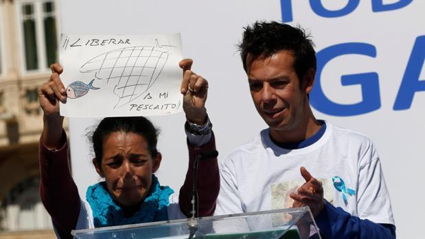 Patricia Ramírez y Ángel Cruz, padres del pequeño Gabriel, asesinado presuntamente por Ana Julia