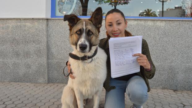 Dolores García es la que ha impulsado esta iniciativa para construir un refugio para animales abandonados