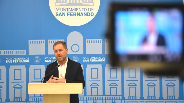 El concejal de Desarrollo Económico, Conrado Rodríguez.