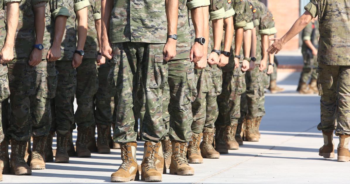 Cuánto cobran los militares españoles?