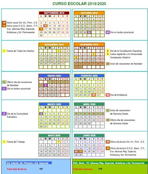 Calendario Festivo Espana 2020.Conoce El Calendario Escolar Para El Proximo Curso 2019 2020