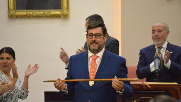 José María Villalobos ha iniciado su segundo mandato como alcalde de Utrera