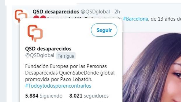 Judith Peña, la menor desaparecida en El Puerto