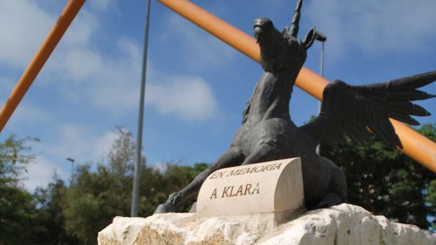 Unicornio en memoria de Klara