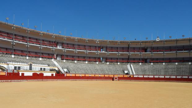 La plaza de Toros de El Puerto se encuentra actualmente en obras