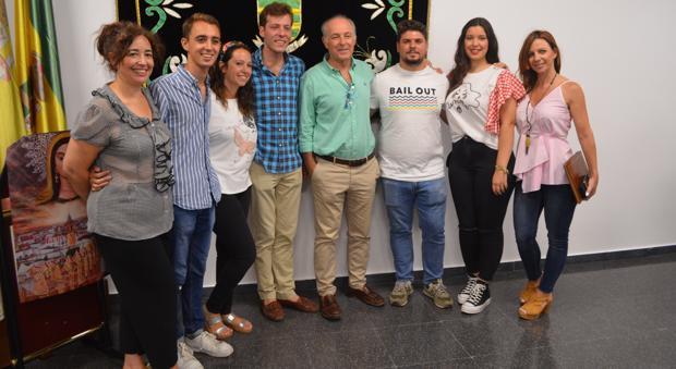 José Manuel Soto ha estado en Los Molares para asistir a la presentación de la feria