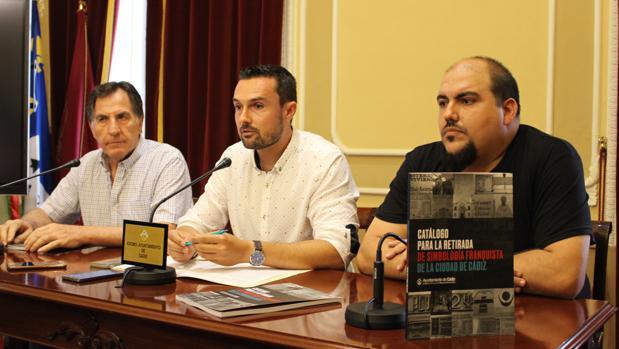Martín Vila durante la presentación del catálogo