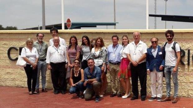 Participantes en los cursos de verano de la UNED de Cádiz