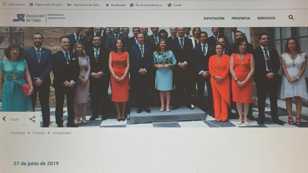 Portal web de Diputación de Cádiz
