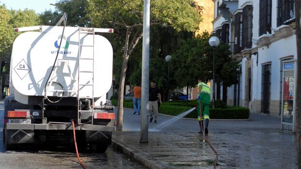 Limpieza en Jerez