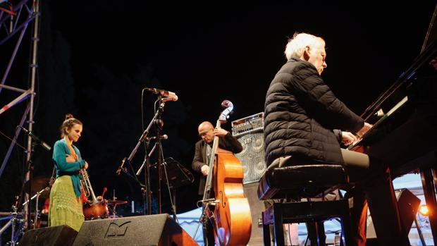 El trío Motis & Chamorro & Terraza durante una de sus actuaciones