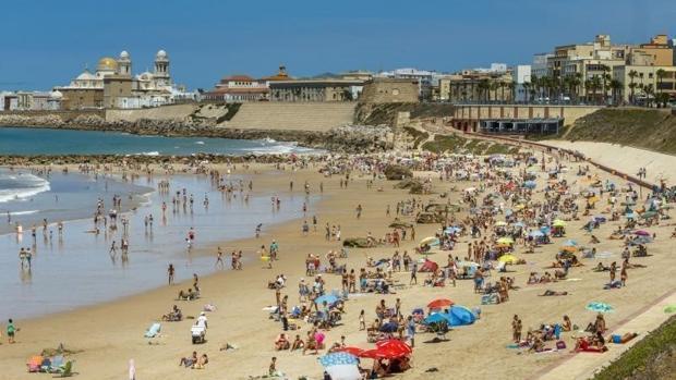 Playa Santa María del Mar de Cádiz