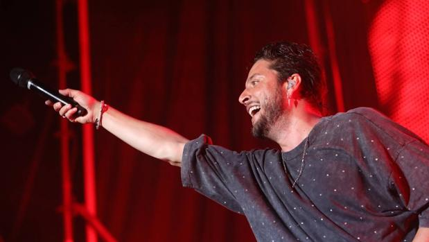 Manuel Carrasco hizo que su actuación en Concert Music Festival fuera inolvidable.