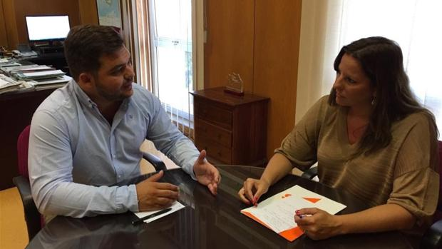 Encuentro entre Estefanía Brazo y Miguel Rodríguez para tomar el pulso de la administración autonómica
