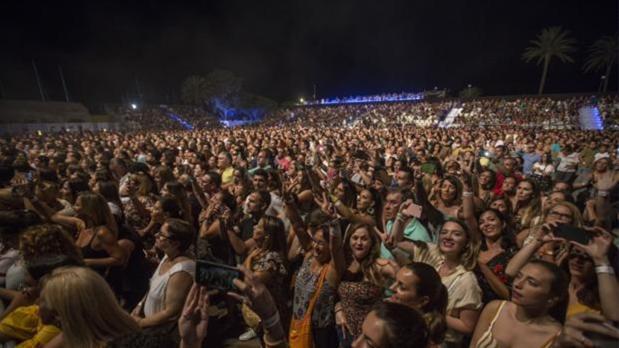 Cádiz ha vivido grandes conciertos multitudinarios en estos últimos meses del año