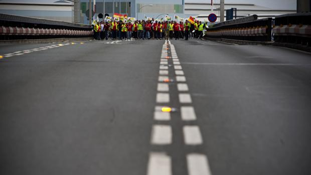 Una marcha ciudadana por el empleo en la provincia de Cádiz