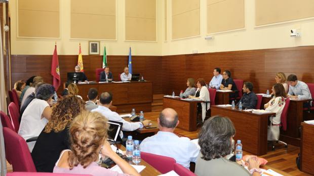 Primer pleno del curso político en Chiclana.