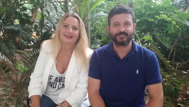 Carmen Panés y Juanlu Lorenzo