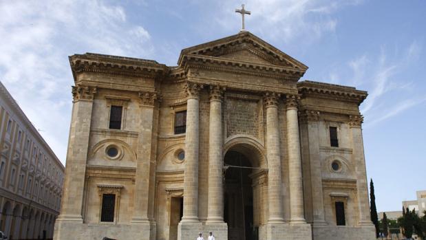 Imagen de la fachada del Panteón de Marinos Ilustres.